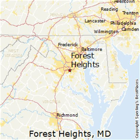 maryland forest map best places to live in forest heights maryland