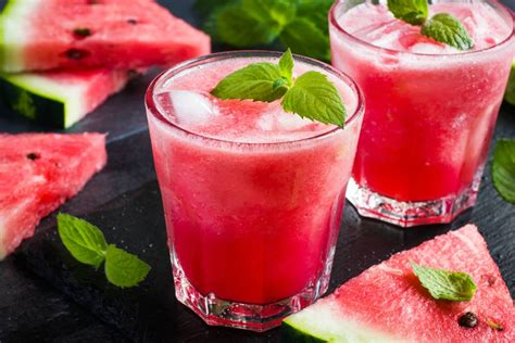 Watermelon Lime Mint Drink Detox by Watermelon Mint And Lime Slushie Recipe