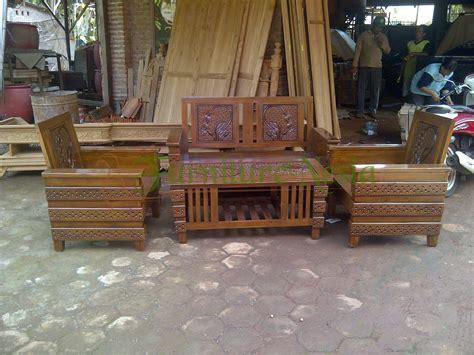 Pot Bunga Jati Furniture Kursi Makan Kursi Tamu Bufet Dipan Jati kursi tamu minimalis jati bunga furniturenesia