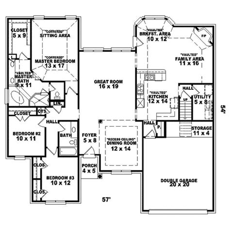 clarendon homes floor plans clarendon country ranch home plan 087d 1388 house plans