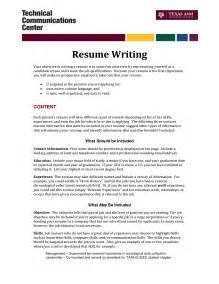 What To Write For Objective On Resume by Writing Objective For Resume 21 How To Write Objectives For Resumes Jianbochencom Objective To