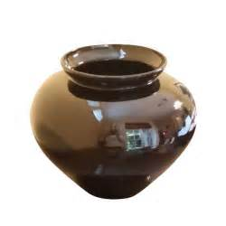 large black vase large black porcelain vase chairish