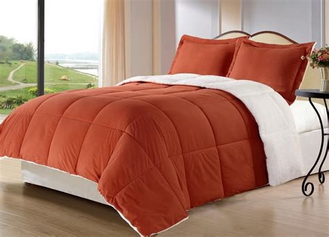 burnt orange comforter orange and grey bedding sets with more ease bedding with