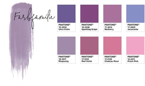 colours of the year 2017 pantone color of the year 2018 ultra violet farbfamilie