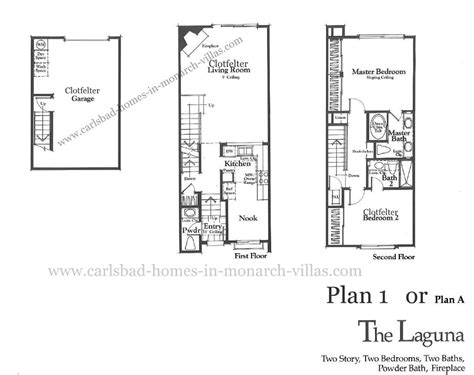 monarch homes floor plans monarch villas carlsbad floorplan one carlsbad homes in