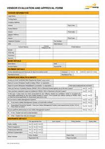 supplier performance evaluation form template best photos of supplier performance evaluation form