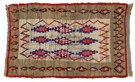 boho rugs for sale boho chic vintage berber moroccan rug with tribal design for sale at 1stdibs