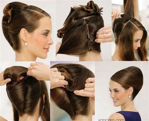 fashion forward hair up do diy updo hair style pictures photos and images for