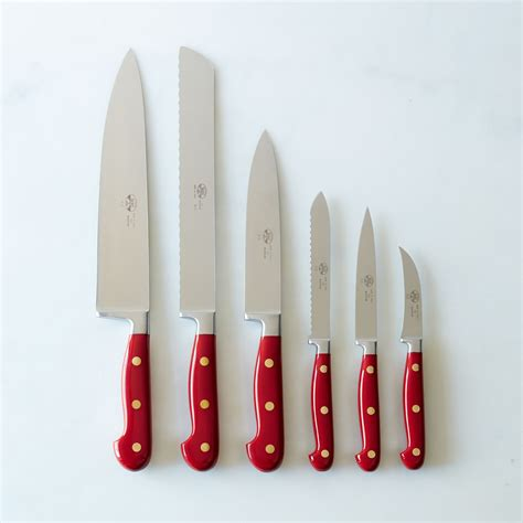 kitchens knives berti red handled italian kitchen knives on food52