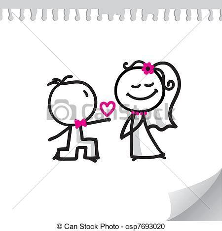 matrimonio clipart coppia cartone animato matrimonio foglio coppia
