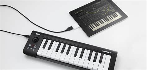 Keyboard Piano Untuk Laptop korg umumkan 3 model keyboard midi yang kompatibel dengan jagat review
