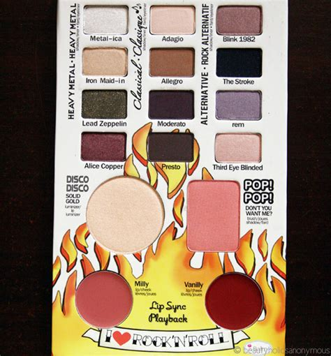 The Balm Balm Jovi Palette rocking with balm jovi beautyholics anonymous