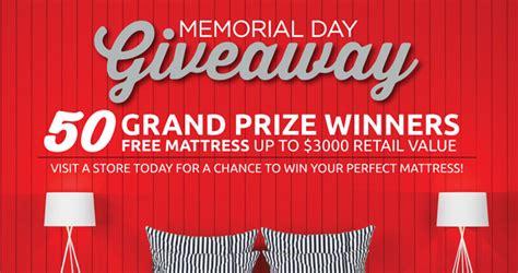 win a free mattress with the mattress firm memorial day giveaway - Mattress Firm Giveaway
