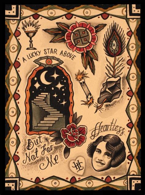 beloved studios tattoo poster u2013 a lucky above but not for me is one of my most