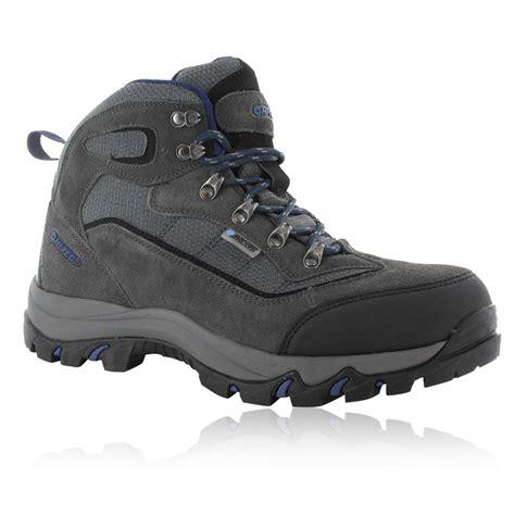 mens hi tec walking boots hi tec mens keswick grey waterproof outdoors trail walking