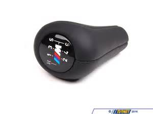 25117896884 manual bmw shift knob m logo weighted