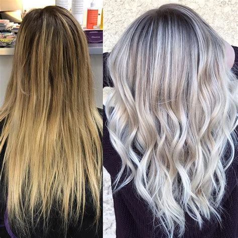 wash hair after balayage highlights best 25 icy blonde ideas on pinterest ashy blonde