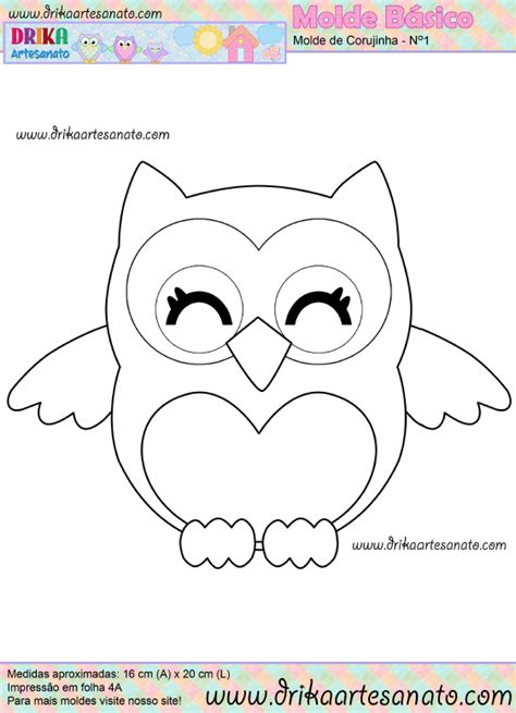 printable owl template for owl template printable just cut these out for the to