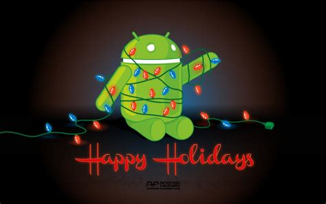 wallpaper android christmas wallpaper happy holidays android foundry
