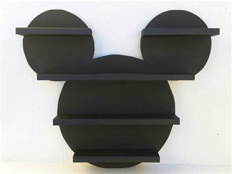 mickey mouse shelf children room shelf by sunkissedcreations11