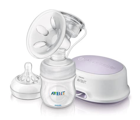 Com Philips Avent Single Electric Comfort Breast