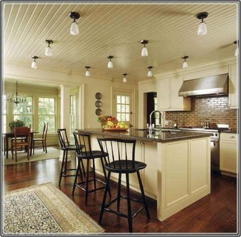 How To Choose The Right Ceiling Lighting For Your Kitchen Vaulted Ceiling Lighting Options