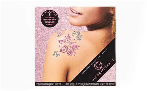 tattoo kit canada flower child glitter tattoo kit glitter tattoo store