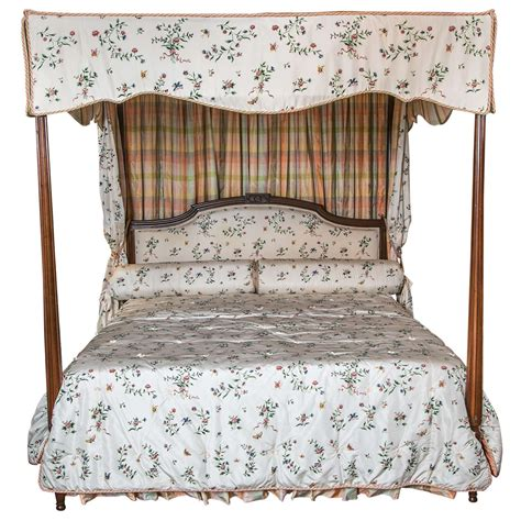 Antique Canopy Bed 4 Poster Canopy Bed