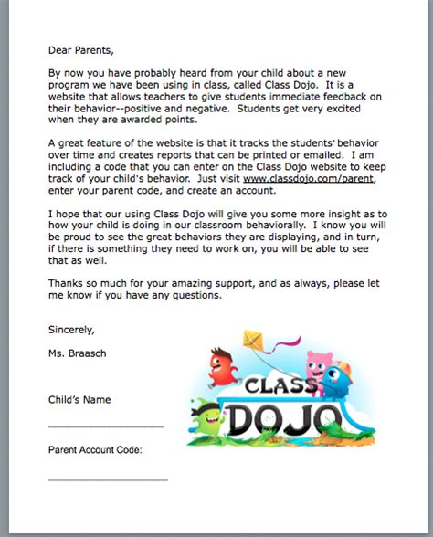thank you letter to class parents year end message thank you just b cause