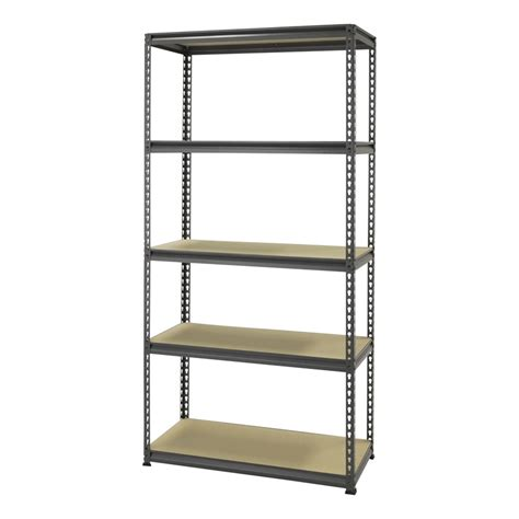 5 Tier Shelf Unit by Montgomery 1830 X 910 X 410mm 5 Tier Shelving Unit
