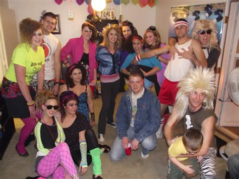 80's fashion for men and woman   1980's theme party