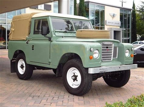 land rover series iii 1984 land rover series 3 for sale 1899243 hemmings
