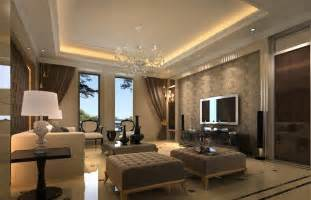 contemporary living room with interior wallpaper by tony