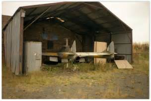 Aircraft Shed by Demobbed Out Of Service Aircraft