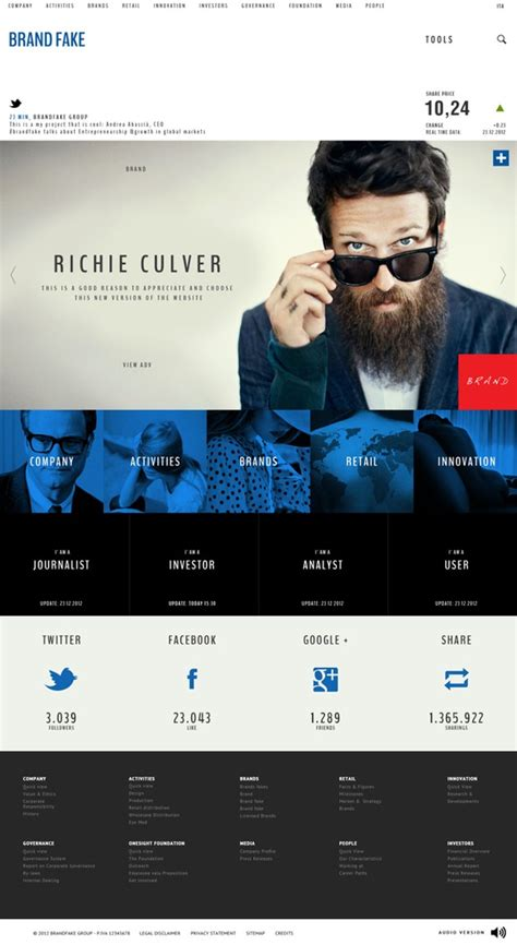 design inspiration corporate design weekly web design inspiration 29