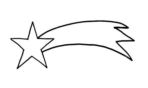 free coloring pages of shooting star of belen