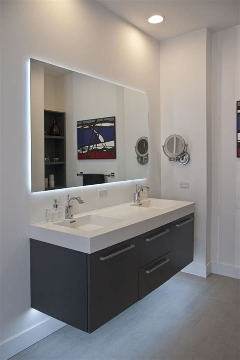 Bathroom Frameless Mirror Frameless Mirror Wonderful Bath Vanity Mirrors Frameless