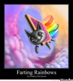 Cat Rainbow Meme - baby farting rainbows memes best collection of funny baby