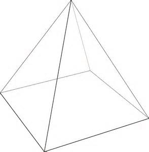 How To Make A Three Sided Pyramid Out Of Paper - 2d triangles gt 3d pyramids lmworks
