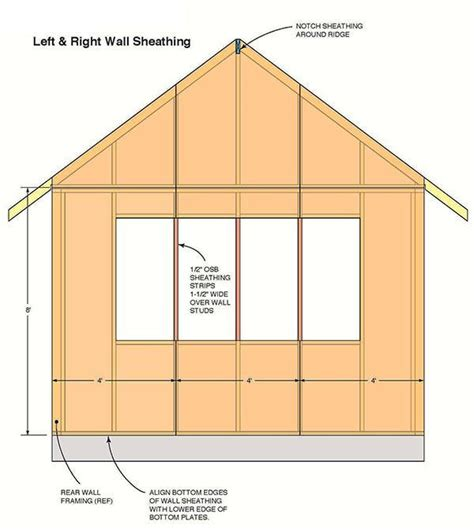 Simple Garden Shed Plans by Large Storage Shed Plans Simple With Large Storage Shed