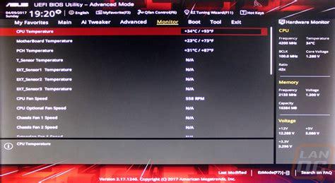 Asus Laptop Bios Change Boot Order asus strix h270f gaming lanoc reviews