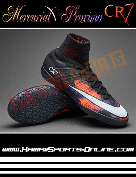 Cr Hitam Original sepatu futsal nike cr7 original