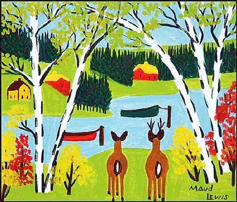 Canadian Houses by Maud Lewis Works On Sale At Auction Amp Biography Invaluable