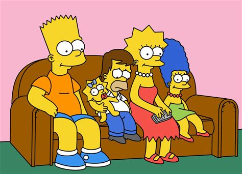 simpsons couch floor plans of homes from famous tv shows
