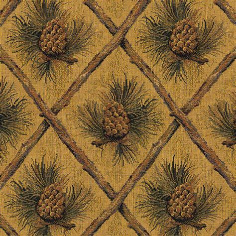 lodge upholstery fabric pinecone upholstery fabric mountain lodge cabin rustic