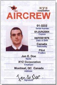 Crew Id Card Design