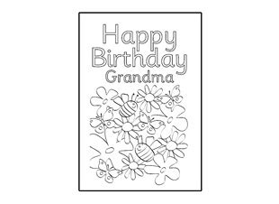printable birthday cards grandma birthday card design template happy birthday grandma