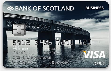 bank of scorland bank of scotland cards on behance