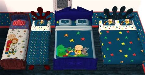 Caillou Bedding Set Mod The Sims Caillou S Treehouse Nursery And Bedroom Sets