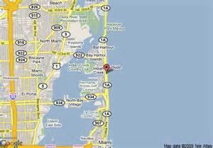 johnson florida map map of howard johnson plaza dezerland and spa miami